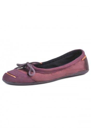 Converse, Woman Charisse Plum Violet Chic Flats