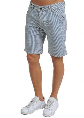 Gas, Caribou Short Striped Pants