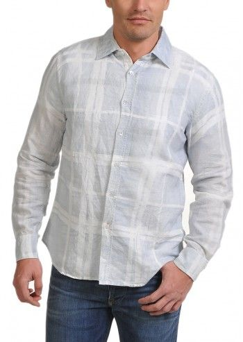 Gas, Man Giogrio Light Blue Shirt