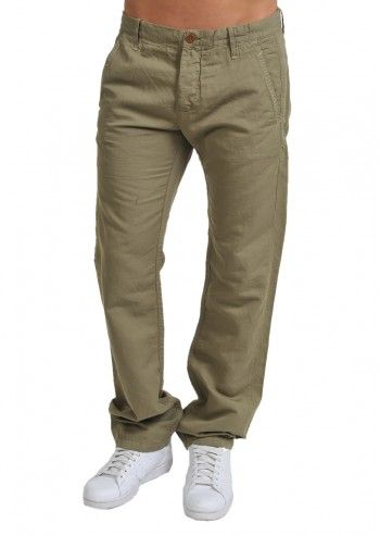 Gas, Man Comfortable Asparagus Green Pants