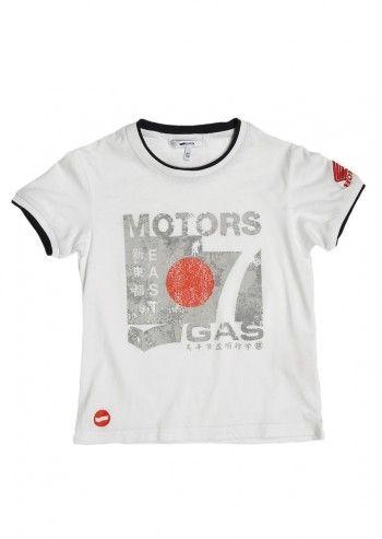 Gas, Boys Stivi White T-shirt
