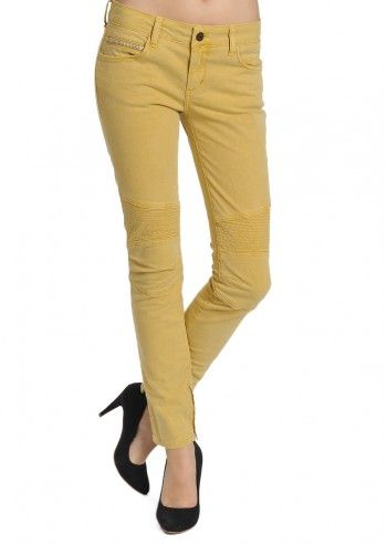 Rockstar Sushi, Woman Valerie Mustard Yellow Pants