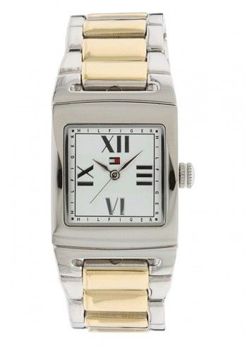 Tommy Hilfiger, Woman Merced Silvery&Golden Watch