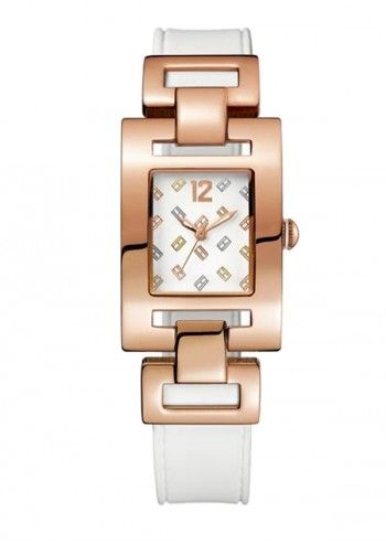 Tommy Hilfiger, Woman Daly City White&Rose Watch