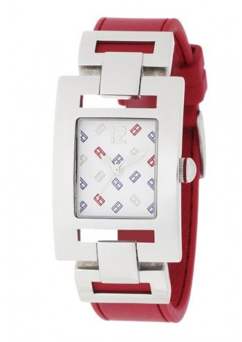 Tommy Hilfiger, Woman Tulare Red Silicone Watch
