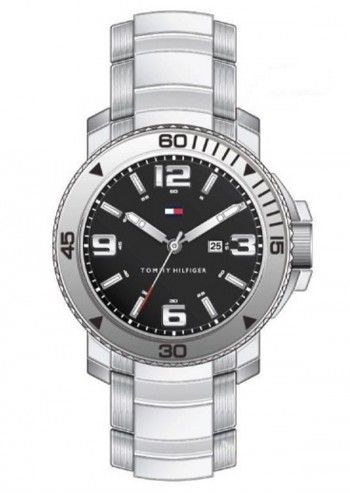 Tommy Hilfiger, Man Trinidad Silvery Watch