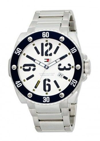 Tommy Hilfiger, Man Sport Addicted Silvery&White Watch