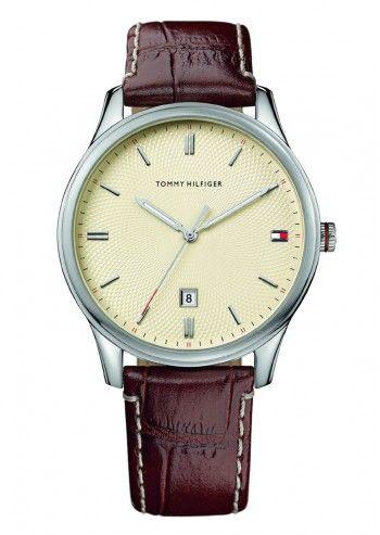 Tommy Hilfiger, Man Sutter Dark Brown Leather Watch