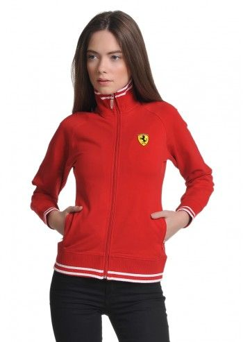 Ferrari, Woman Red Sweatshirt