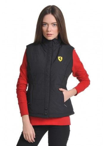 Ferrari, Woman Alicia Black Vest