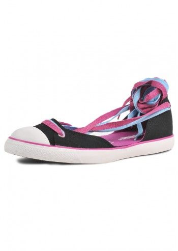 Converse, Woman Summer Session Black Espadrilles