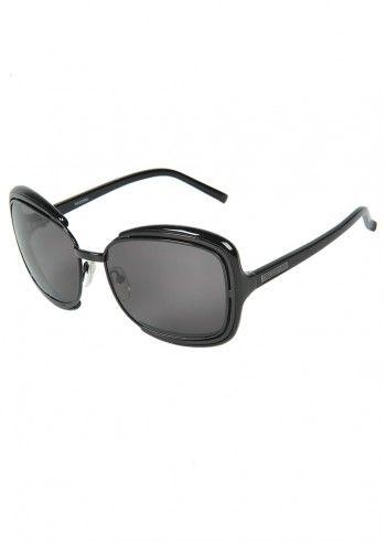 Valentino, Woman Gail Black Sunglasses