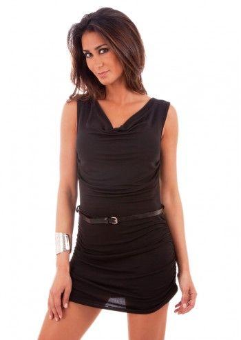 Rue Montmartre, Apoline Black Dress