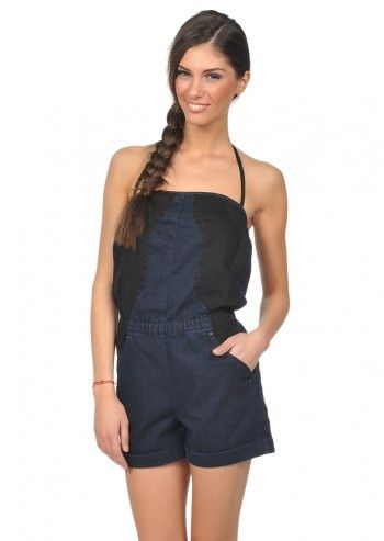 Diesel, Woman Jexel Indigo Denim Jumpsuit