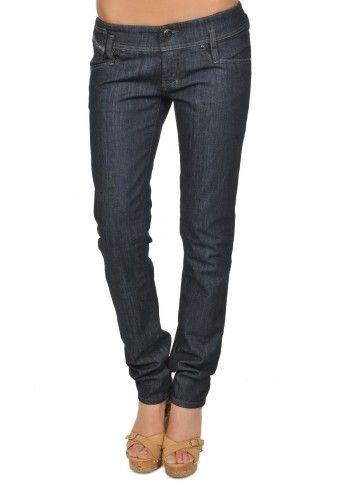 Diesel, Woman Noriel Navy Blue Jeans