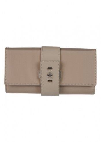 CK Calvin Klein, Woman Bare Necessity Taupe Large Wallet