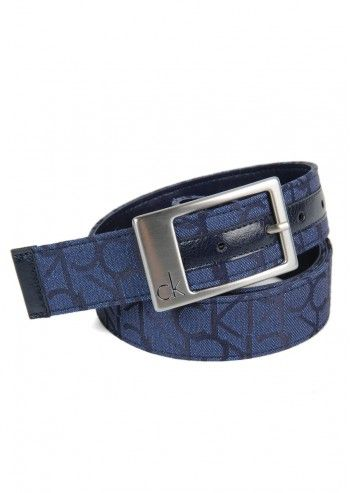 CK Calvin Klein, Woman Thin Navy Glitter Belt