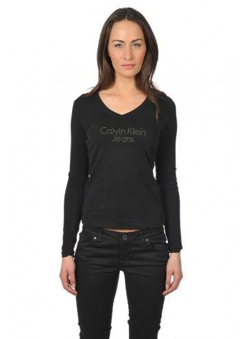 Calvin Klein Jeans, Woman Black Donna Blouse