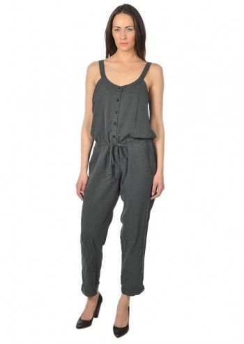 Calvin Klein Jeans, Woman Anthracite Gray Irma Jumpsuit