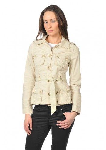 Calvin Klein Jeans, Woman Haute Design Beige Jacket