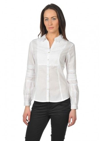 Calvin Klein Jeans, Woman White Greta Shirt
