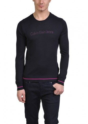 Calvin Klein Jeans, Man Night Orchid Ultramarine Sweater