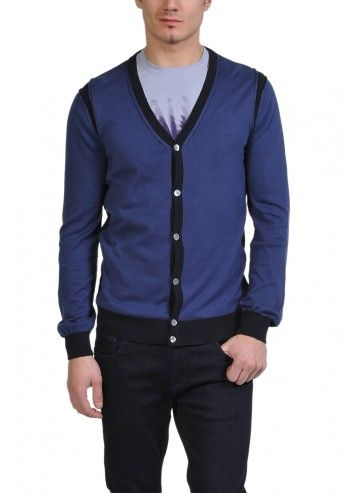 Calvin Klein Jeans, Man Midnight Blues Cardigan