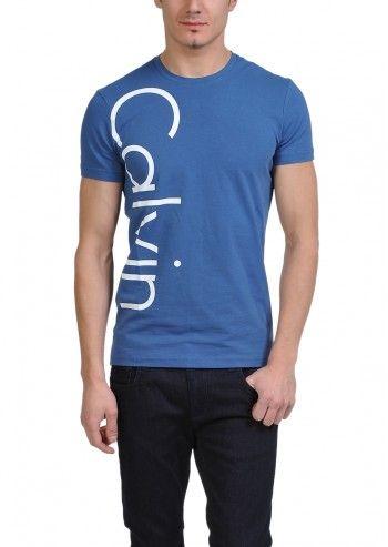 Calvin Klein Jeans, Man Lars Blue T-shirt