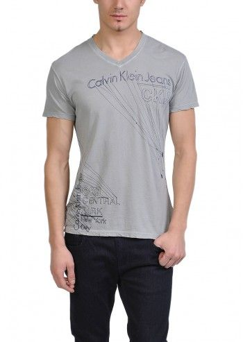Calvin Klein Jeans, Man New York Ash T-shirt