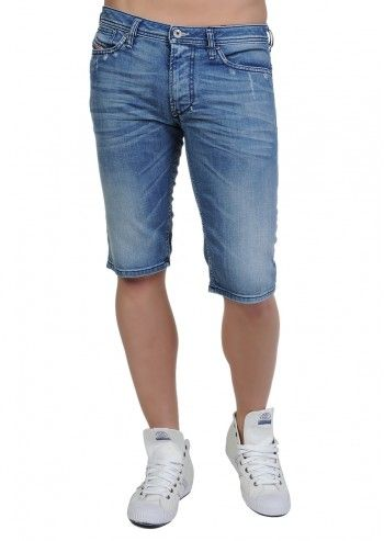 Diesel, Man Calzoncini Blue Shorts