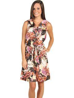 Calvin Klein (CK) Ruffle Top Woven Dress