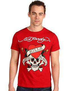 Ed Hardy S/S Platinum Love Kills Slowly