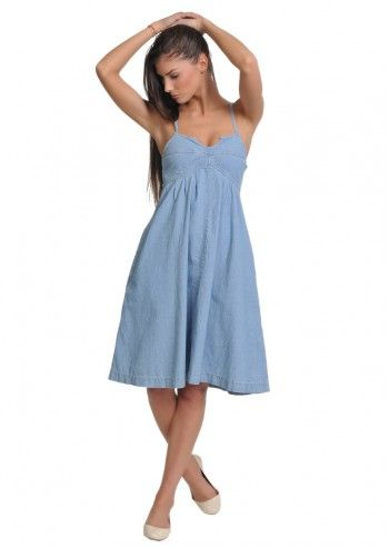 Levi's, Woman Lolita Light Blue Dress