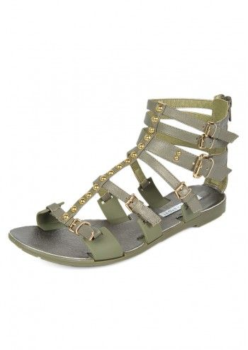 Apepazza Sport, Roman Green Sandals