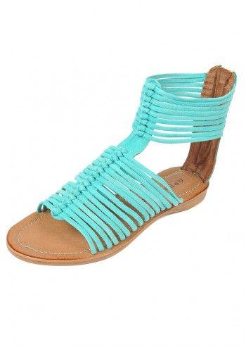 Sandale romane Tourquoise