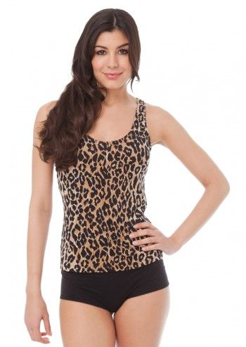 Dolce&Gabbana, Discreet Animal Printed Top