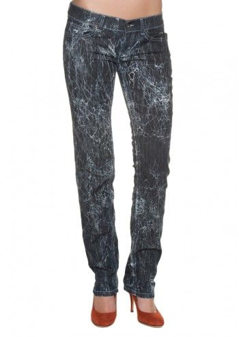 Dolce&Gabbana, Waterfall Navy Jeans