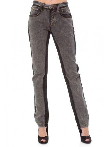 Dolce&Gabbana, Gray Vintage Jeans