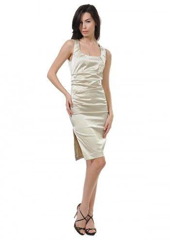 Tru Trussardi, Lucinda Beige Dress