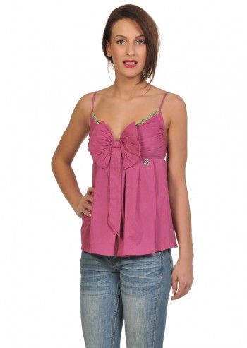 Galliano, Californian Summer Mineral Pink Top