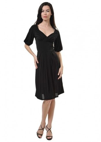 Tru Trussardi, Margaret Black Dress