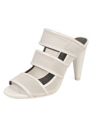 CK Calvin Klein, Woman Edda White Slipper Sandals