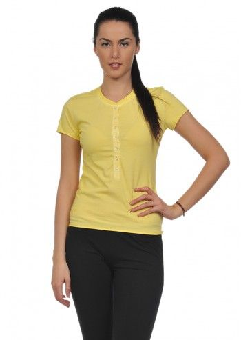 Lotto, Woman Mya Yellow T-shirt