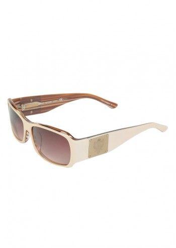 Esprit, Ochelari de soare alb fildes pentru femei Chrome Sparks