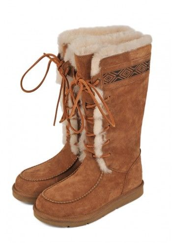 UGG® Australia, Woman Tularosa Brown Suede Boots
