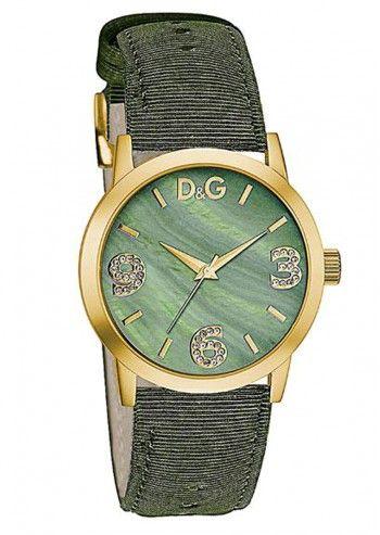 D&G, Ceas de dama Verde&Auriu