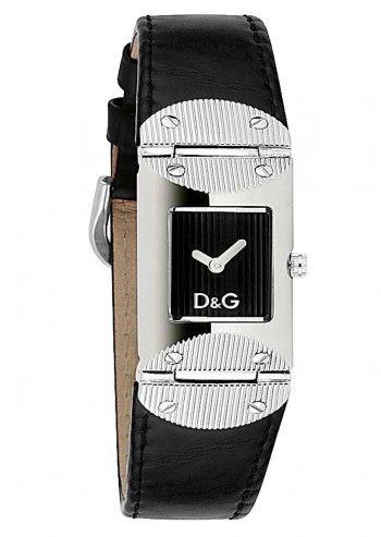 D&G, Ceas de dama Tweed Black Strap