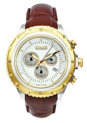 D&G, Ceas barbatesc Bourgeois Brown Leather