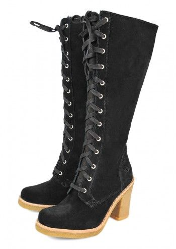 UGG® Australia, Woman Aubree Black Suede Boots
