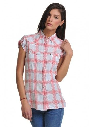 Levi's®, Woman Ruth Multi Checkered Shirt